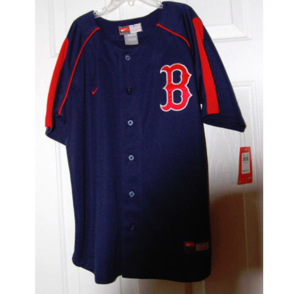 31ed16a94 Nike MLB Shirts & Tops | Nike Team Jersey Boston Red Sox Mlb | Poshmark